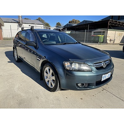 12/2008 Holden Berlina  VE MY09 4d Sportwagon Blue 3.6L