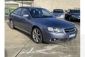 8/2005 Subaru Liberty 3.0R MY05 4d Sedan Grey 3.0L