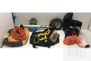 Tow Ropes, Jockey Wheel and Air Compressotr