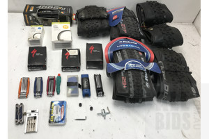 Lot Of Assorted Bike Accessories