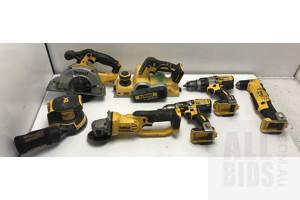 Dewalt 18V Tool Skins -Lot Of Seven