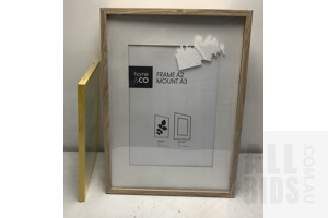 Honme&Co and Anko A2 Picture Frames -Lot Of Six