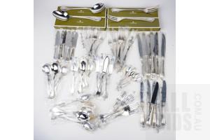 Christofle Flatware Set for Six with Original Boxes - 70 Pieces