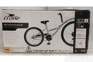 Crane Hitchhiker Kids Tandem Bike Extension In Original Packaging