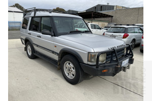 6/2004 Land Rover Discovery Classic (4x4) TD5 4d Wagon Silver 2.5L