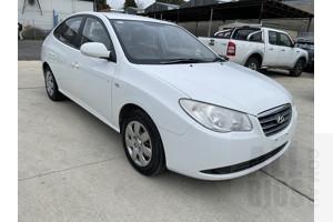 6/2007 Hyundai Elantra SX HD 4d Sedan White 2.0L