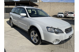 8/2005 Subaru Outback 3.0R Premium MY06 4d Wagon White 3.0L