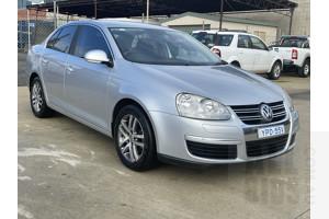 8/2007 Volkswagen Jetta 2.0 TDI 1KM 4d Sedan Silver 2.0L