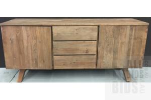 Walker Recycled Elm Veneer Sideboard - ORP $2890