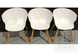 White Karla Tub Chairs - Combined ORP $1830