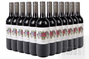 Plums and Roses 2 Piece 2020 Red Wine 750ml Case of 12