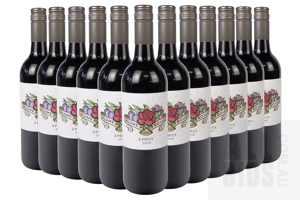 Plums and Roses 5 Piece 2020 Red Wine 750ml Case of 12