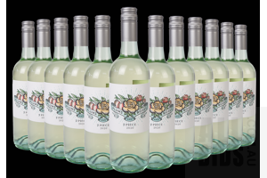 Plums and Roses 2 Piece 2020 White Wine 750ml Case of 12