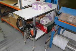 KCD CD8000 Gap/Contact Stud Welder With Custom Built Mobile Trolley