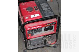 Honda EM30 Petrol Powered Generator - 3kVA