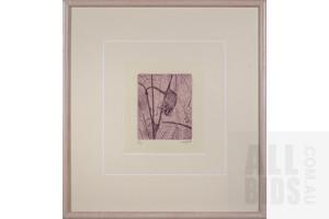 Clifton Pugh (1924-1990), Sugar Glider, Etching, 17.5 x 14.5 cm