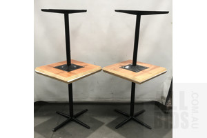 Cafe Tables - Lot Of Four