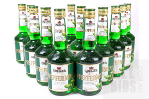 Greizer Pfefferminz Peppermint Liqueur 500ml Case of 12