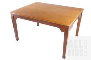 Early 20th Century Silky Oak Writing Desk