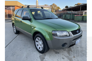 10/2004 Ford Territory TX (rwd) SX 4d Wagon Green 4.0L