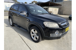 6/2008 Holden Captiva LX 60TH Anniversary (4x4) CG MY08 4d Wagon Black 3.2L