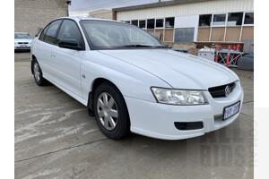 6/2006 Holden Commodore Executive VZ 4d Sedan White 3.6L