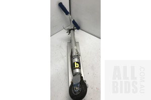 Silver Urban Kids Scooter