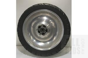 Harley Davidson Fat Boy Rim and Tyre