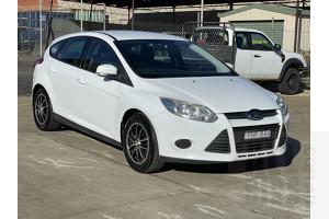 9/2012 Ford Focus Ambiente LW 5d Hatchback White 1.6L