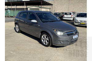 1/2007 Holden Astra CDX AH MY07 5d Hatchback Grey 1.8L
