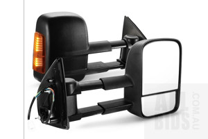 San Hima VATM012A Extendable Towing Mirrors - ORP $250