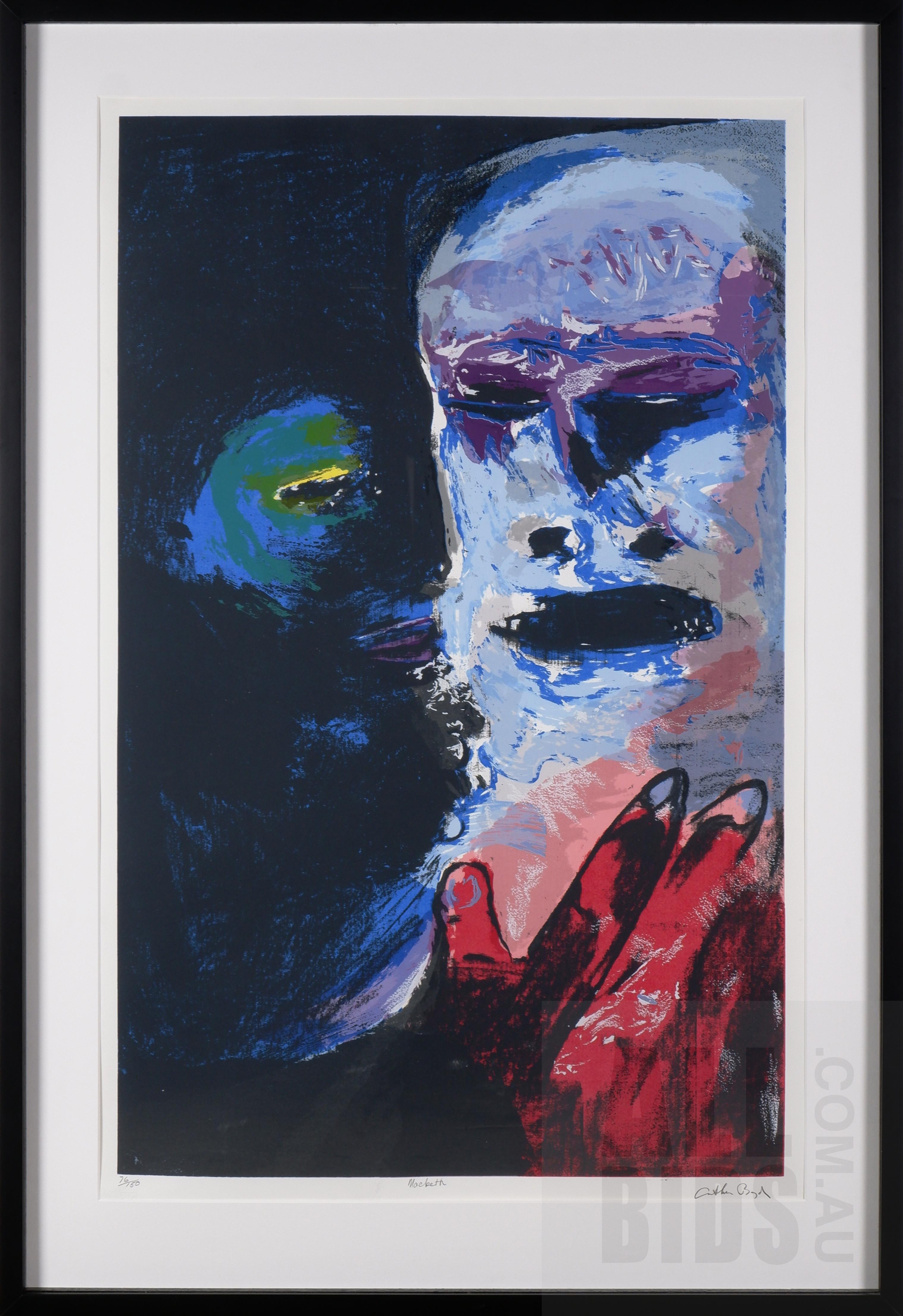 'Arthur Boyd (1920-1999), Macbeth, Screenprint, 92 x 58 cm (image size)'