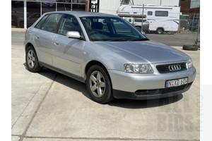 10/2002 Audi A3 1.8  5d Hatchback Silver 1.8L