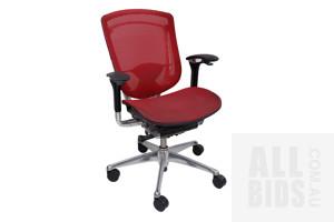 Contemporary 'Okamura' Brand Adjustable Desk/Office Chair