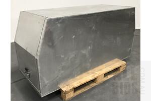 Large Custom Made Stainless Steel Universal Ute Tool Box