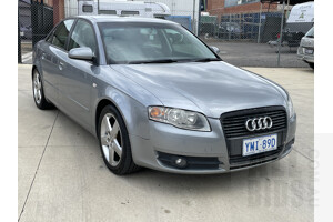 6/2005 Audi A4 2.0 B7 4d Sedan Silver  2.0L