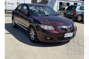 6/2006 Mazda Mazda3 MAXX Sport BK MY06 UPGRADE 4d Sedan Purple 2.0L
