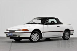 10/1990 Ford Capri Turbo 2d Convertible White 1.6L