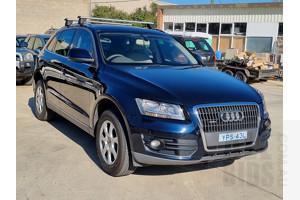 1/2010 Audi Q5 2.0 TDI Quattro 8R MY10 4d Wagon Blue 2.0L