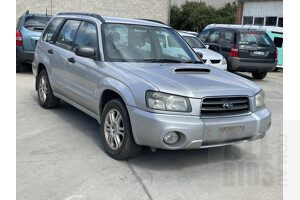 5/2004 Subaru Forester XT MY04 4d Wagon Silver 2.5L
