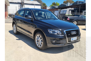 2/2012 Audi Q5 3.0 TDI Quattro 8R MY12 4d Wagon Black 3.0L